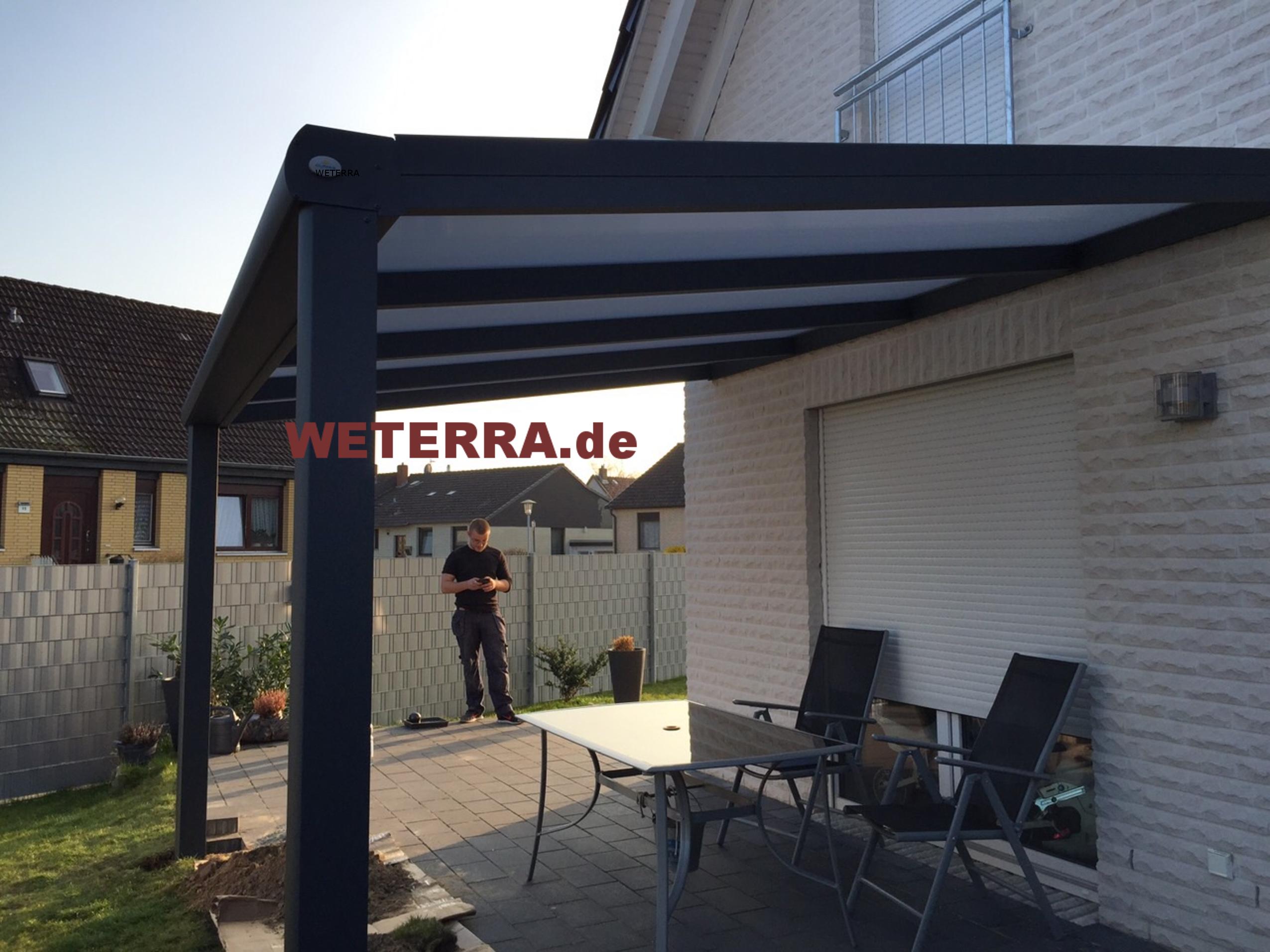 ÜBER UNS München Terrassenüberdachung WETERRA